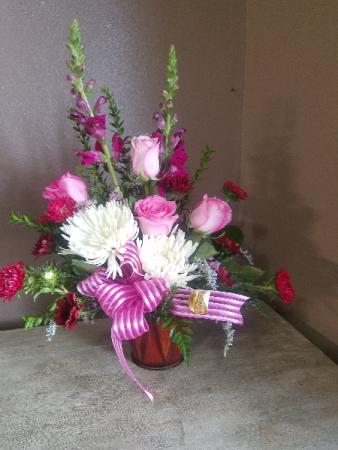 Cupid kiss Fresh arrangement