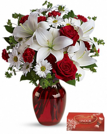 Cupids Arrow fresh arrangement