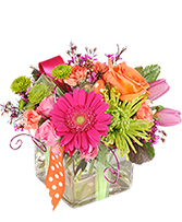Happy Thoughts Colorful Bouquet in Jermyn, Pennsylvania | DEBBIE'S FLOWER BOUTIQUE