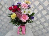 Touch of Spring Vase Arrangement