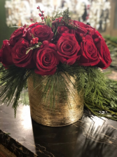 CUPID'S CHRISTMAS ARRANGEMENTS ELEGANT AND MIXTURE FLOWERS