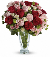 Cupid's Creation with Red Roses  VASE ARRANGEMENT