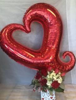 Cupid's Cube  Valentines Container  in Virginia Beach, VA | FLOWER LADY