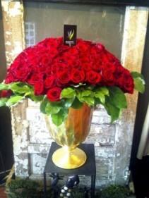 Cupids Heart Roses