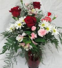 Cupid's Kiss Inspirations Original Design in Lock Haven, PA | INSPIRATIONS FLORAL STUDIO