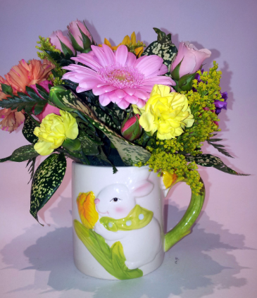 Cuppa Easter! Ceramic Mug Arrangement