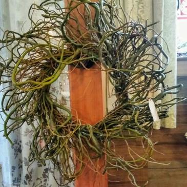 Curly Willow Wreath Fresh wreath