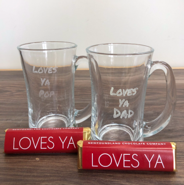 Curved mug loves ya dad/pop Mug