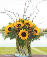 Stunning Sunflowers Mother's Day Arrangement