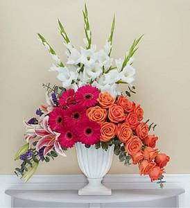 Custom Arrangement 5 Sympathy Design in Oakville, ON | ANN'S FLOWER BOUTIQUE-Wedding & Event Florist