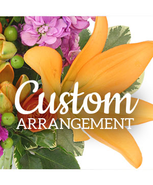 Custom Arrangement  in North Adams, MA | MOUNT WILLIAMS GREENHOUSES INC
