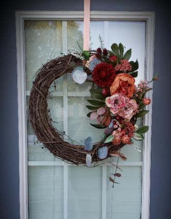 Custom Artificial Fall Wreath