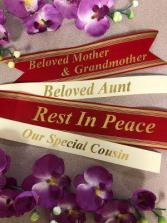 CUSTOM BANNER PERSONALIZED RIBBON