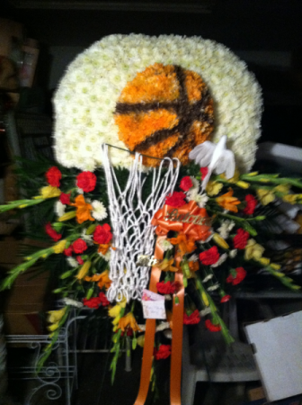 Custom Basketball Arrangement  Custom