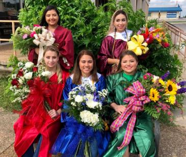 Custom Bouquet  Graduation Arm Bouquet