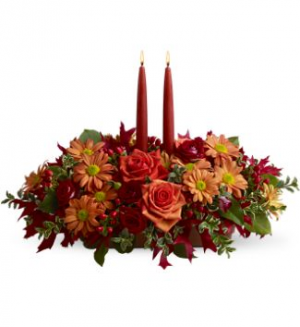 Custom Centerpiece Thanksgiving in Victor, NY | HOPPER HILLS FLORAL & GIFTS