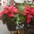 Custom Christmas planter  Custom Christmas  planter
