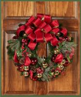 Custom Christmas Wreath  Designer's Choice