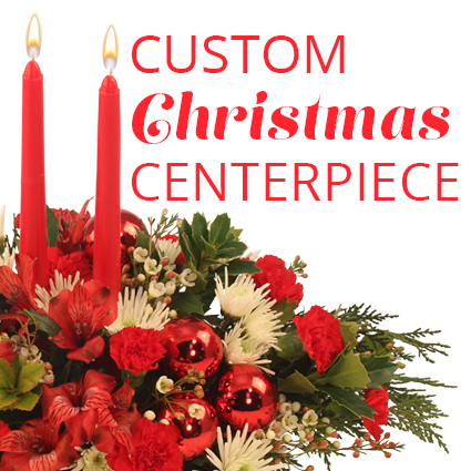Custom Christmas Centerpiece