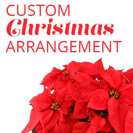 Custom Christmas Arrangement
