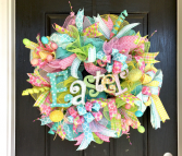 Custom Deco Mesh Wreaths
