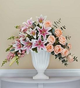 Custom Design 4  Sympathy Arrangement  in Oakville, ON | ANN'S FLOWER BOUTIQUE-Wedding & Event Florist