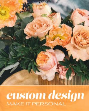Custom Design Flower Arrangement in Nevada, IA | Flower Bed