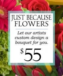 Custom design Fresh roses arrangement