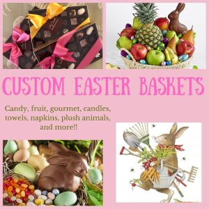 Custom Designed Easter Baskets  in Southern Pines, NC | Hollyfield Design Inc.