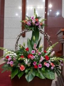 Custom Designs 1 Alta Arrangement  in Oakville, ON   ANN'S FLOWER BOUTIQUE-Wedding & Event Florist