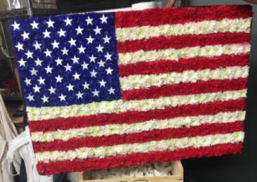 Custom designs  American flag