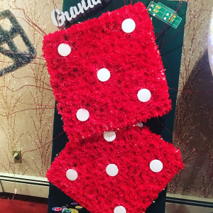 Custom designs  Craps dice in Ozone Park, NY | Heavenly Florist