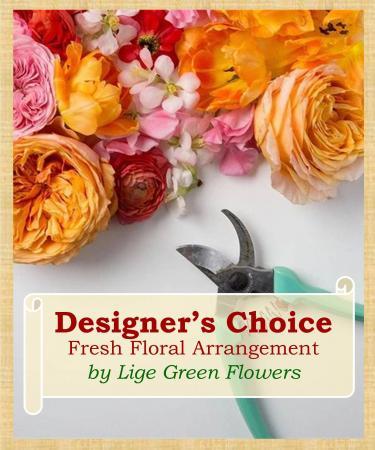 Custom Floral Arrangement Designer's Choice