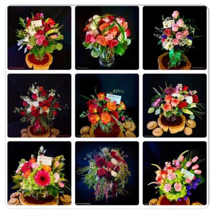 Custom Floral Design 3D Floral Design