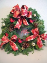 CUSTOM FRESH WREATH Live Wreath