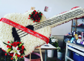CUSTOM FUNERAL ARRANGEMENT