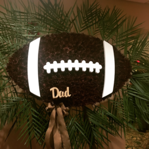 Custom funeral flowers  Football in Ozone Park, NY | Heavenly Florist