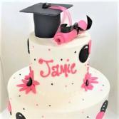 Custom Graduation Cake Sweet Blossoms