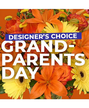 Custom Grandparent's Day Florals Designer's Choice in Henderson, NC | The People's Choice D'Campbell Floral D'Zign Studi