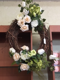 Custom Grapevine Wreath for the home