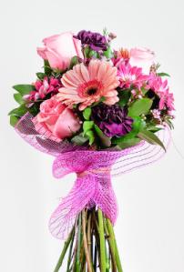 Custom Handtied Bouquets Cut Flowers - no vase