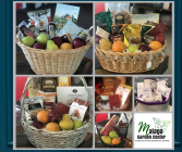 Custom Gourmet Baskets! Food/Fruit and gift baskets