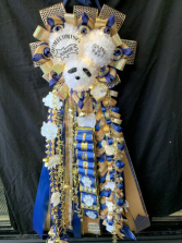 Custom Homecoming Mum Silk Homecoming Mum