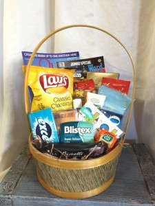 Custom Hospital Survival Gift Basket  in Kelowna, BC | MISSION PARK FLOWERS