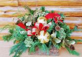 Custom Log Box Christmas