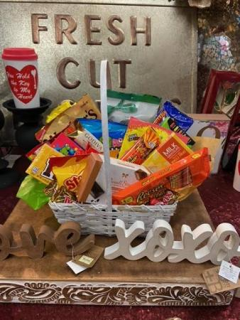 Custom Made Candy & Junk Food Baskets Basket
