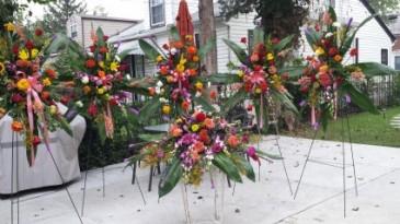 Custom made funeral flowers  Funeral Flowers Package