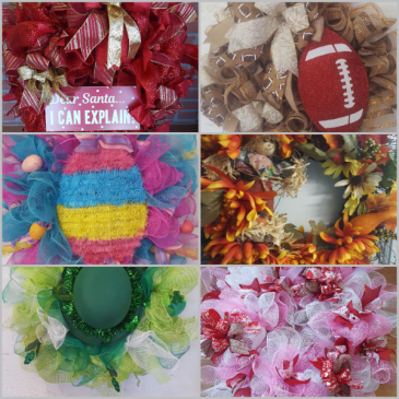 custom made wreaths  CUSTOM MADE WREATHS