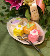 Custom Petit Four- 6 Pieces Mothers Day