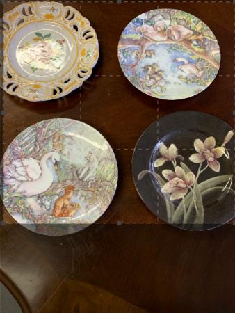 custom plate with floral arrangement pt2 plate with custom floral arrangement